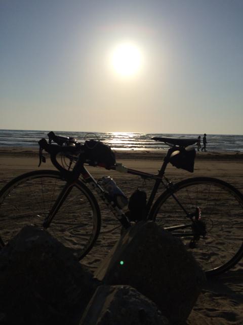 千里浜SPで指定の写真を撮影 2014 BRM510近畿300丸岡