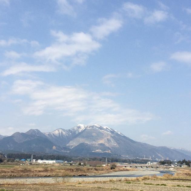 藤原岳 (2015年3月15日) いなべ市北勢町麻生田から