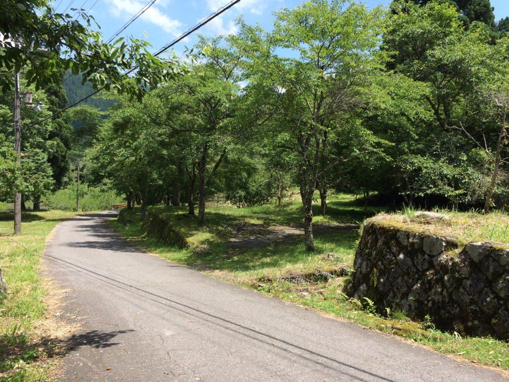 大萩の集落跡 2015年5月20日 石榑峠と鞍掛峠