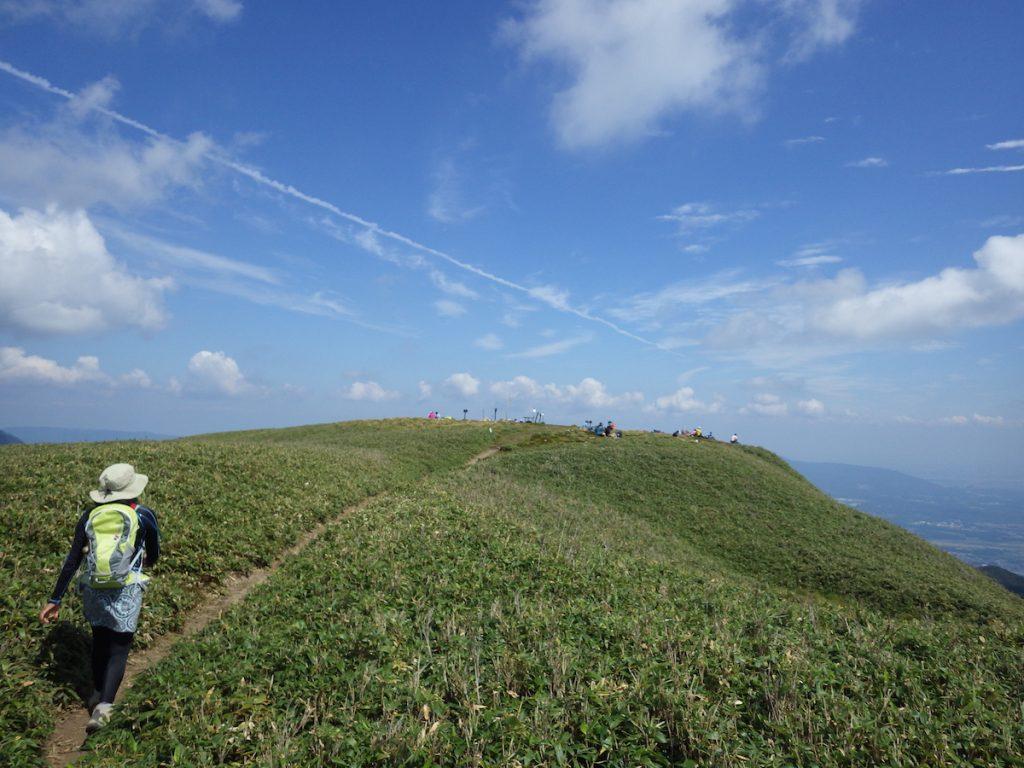 竜ヶ岳山頂 2015年9月22日