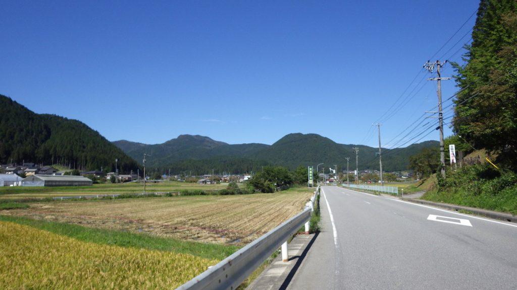 津具の集落で視界が開ける 2015 BRM1003静岡200