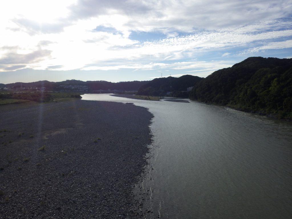 天竜川を渡る 2015 BRM1003静岡200