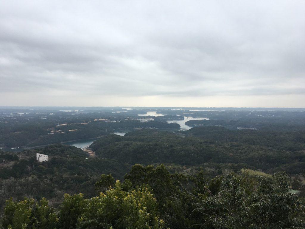 横山展望台からの眺望