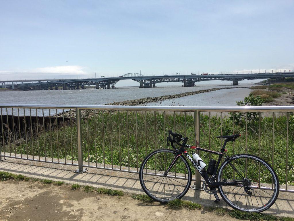 荒川河口(右岸)