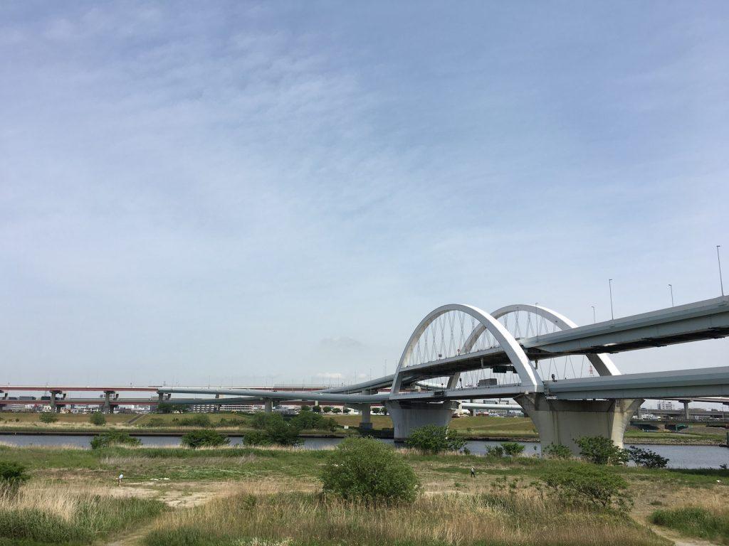 首都高速中央環状線 五色桜大橋