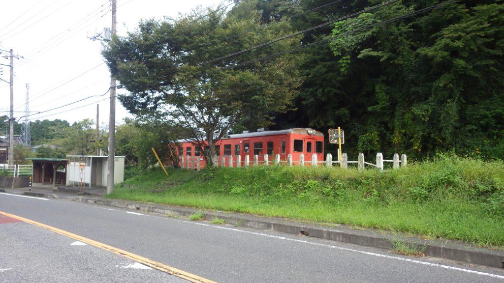 いすみ鉄道に遭遇