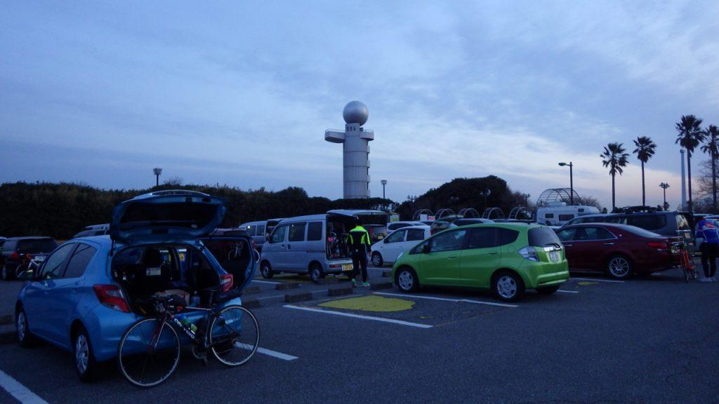夜明けの袖ケ浦海浜公園