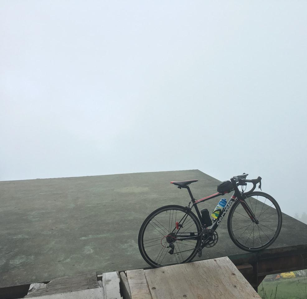 霧の池田山