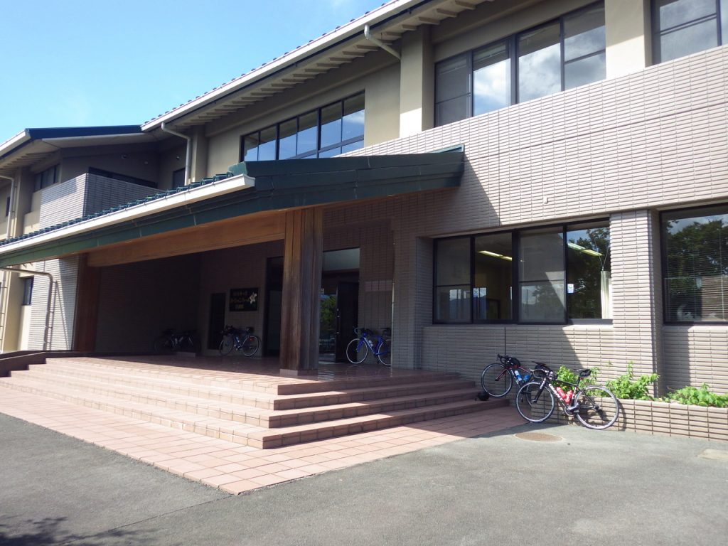 松阪ブルベでおなじみの坂内川スポーツ公園武道場