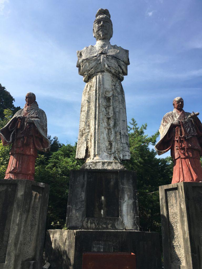 大野町の聖徳太子像