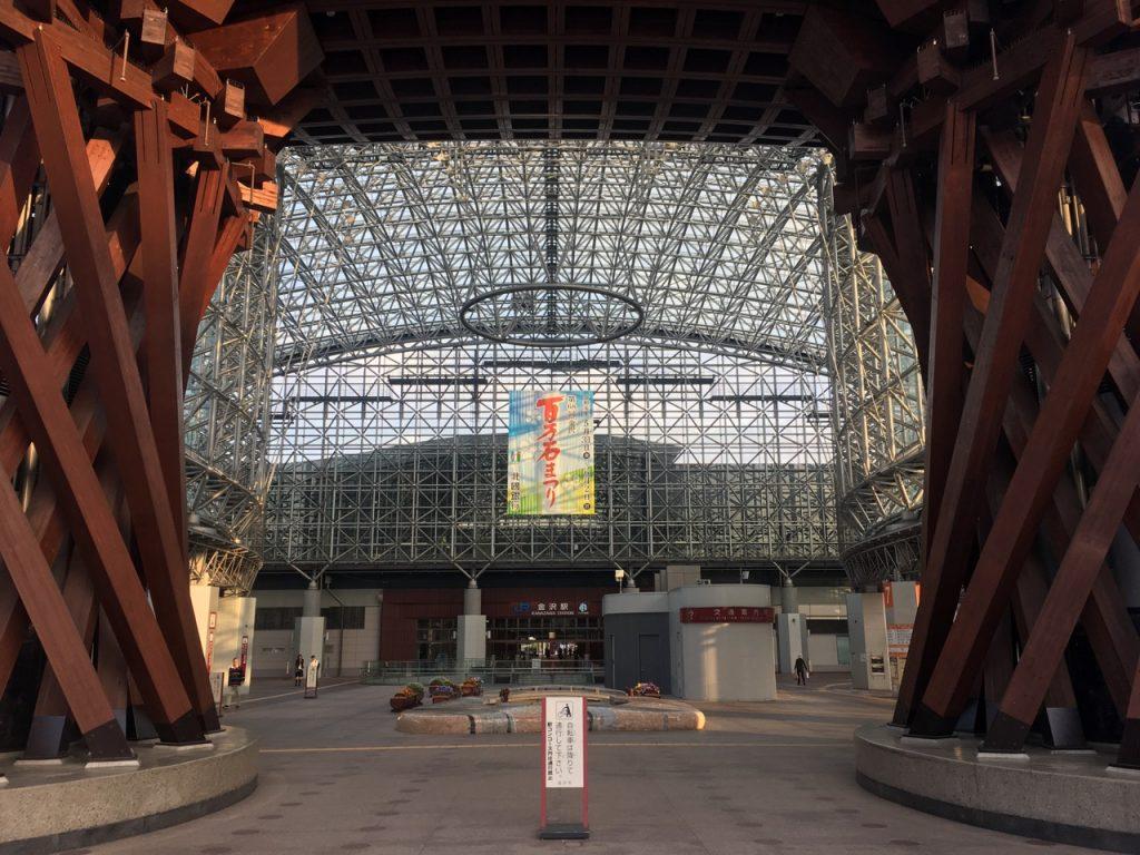 BRM511 のスタートは金沢駅