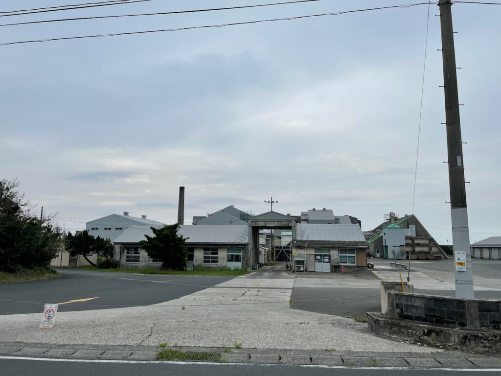 喜界島唯一の製糖工場